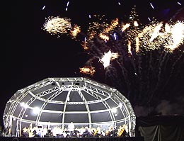 English Symphony Orchestra and fireworks spectacular