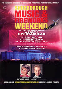Shugborough Proms Spectacular with Angela Rippon, Adrian Jackson & Elizabeth MacDonald